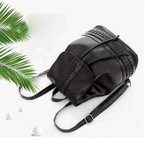 Handbags - Backpack - Like New black, mini, soft faux leather